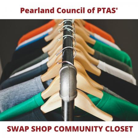 The Pearland Council of PTAs' Swap Shop/Community Closet
