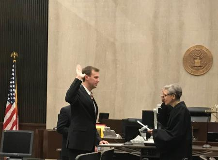 Patrick Sworn In As New US Attorney