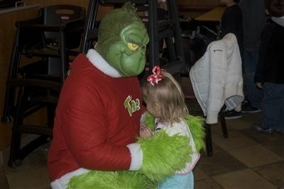 The Grinch At Chick-fil-A